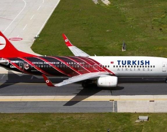 Avionska nezgoda na aerodromu u Sarajevu
