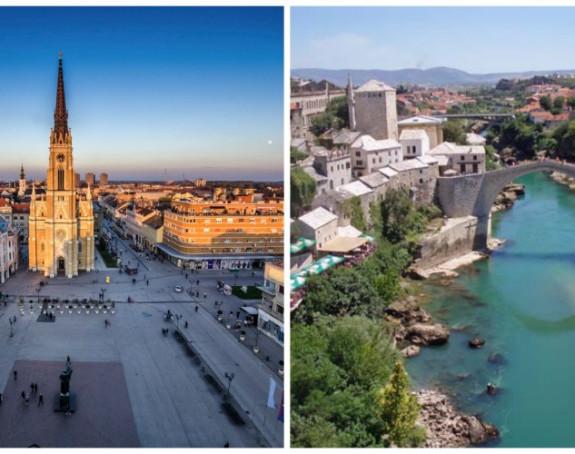 Novi Sad i Mostar treba posjetiti u 2016.