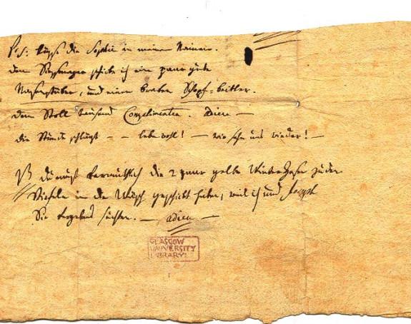 Mocartovo pismo prodato za 270.000 dolara