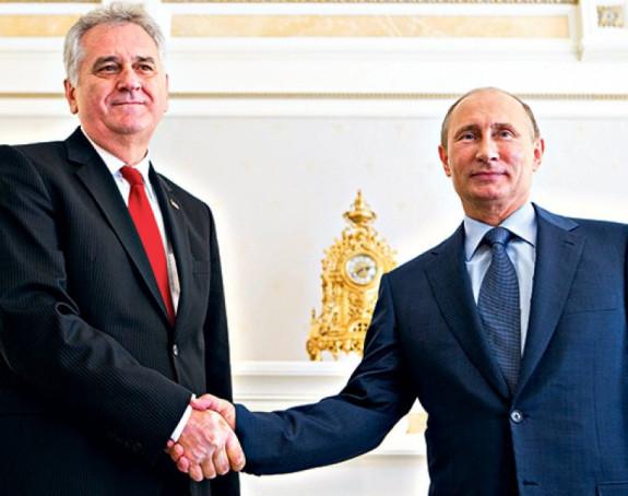 Putin pozvao Nikolića da posjeti Rusiju