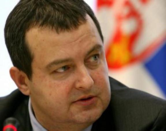 Dačić:Hapšenje dvojice Albanaca kao recipročna mera