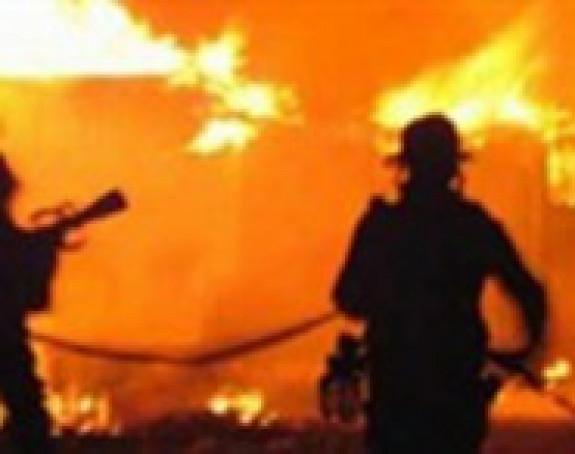 Požar u Vrčinu, nema povrijeđenih
