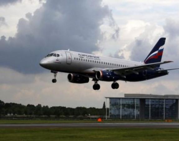 Гадјан руски путнички авион са 200 путника