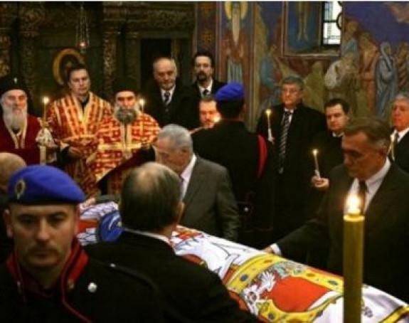 Данас пренос земних остатака краљице Александре