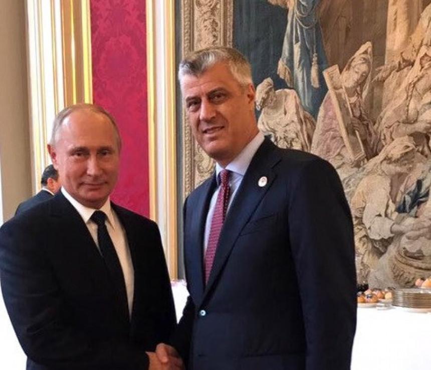 Moskva o susretu Putina sa Tačijem