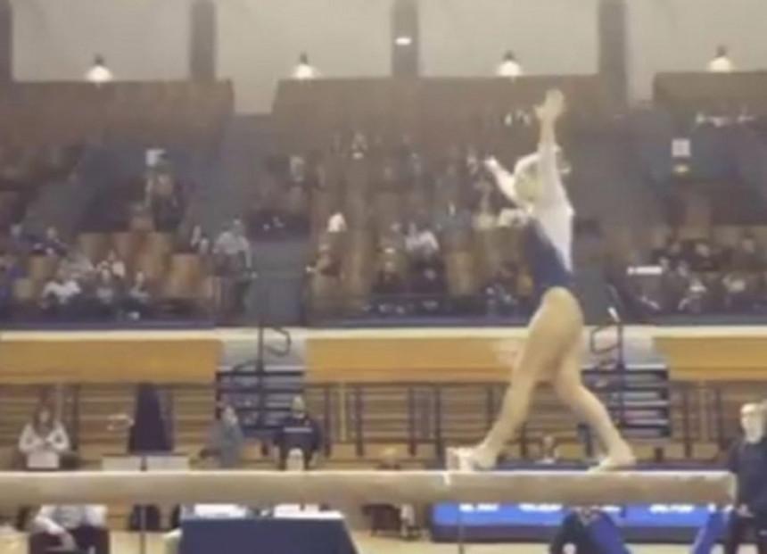 Gimnastičarka poginula tokom izvođenja vježbe