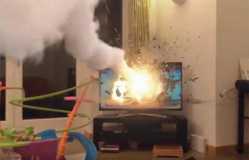 Televizor eksplodirao u stanu, ima povrijeđenih
