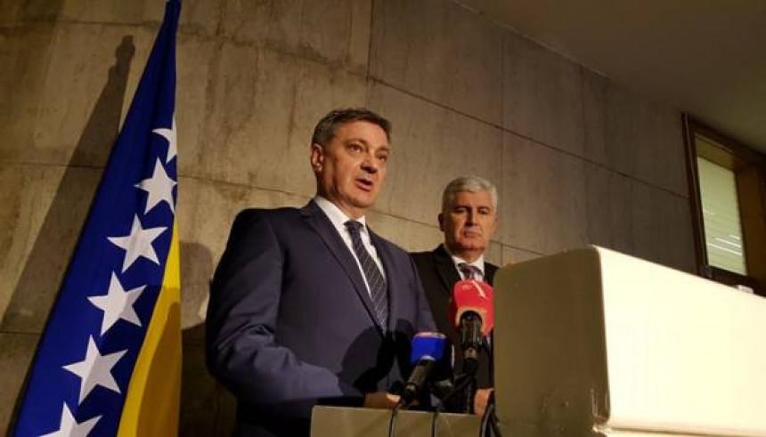 Čović i Zvizdić o deblokadi Parlamenta BiH