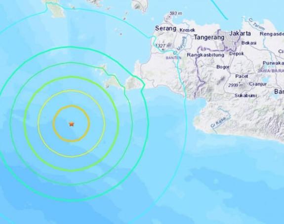 Vanredno stanje: Jak zemljotres u Indoneziji