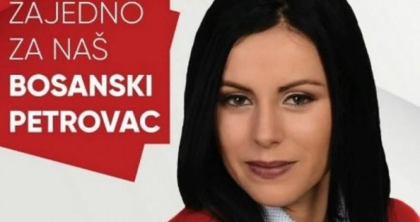 Emina Mešić kandidat SNSD-a
