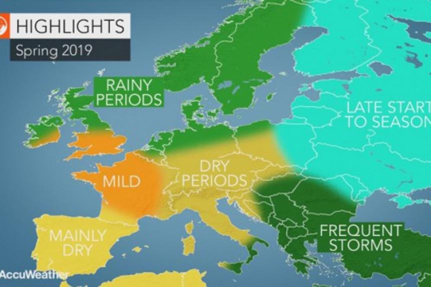 Prognoza: Kakvo će biti proljeće?