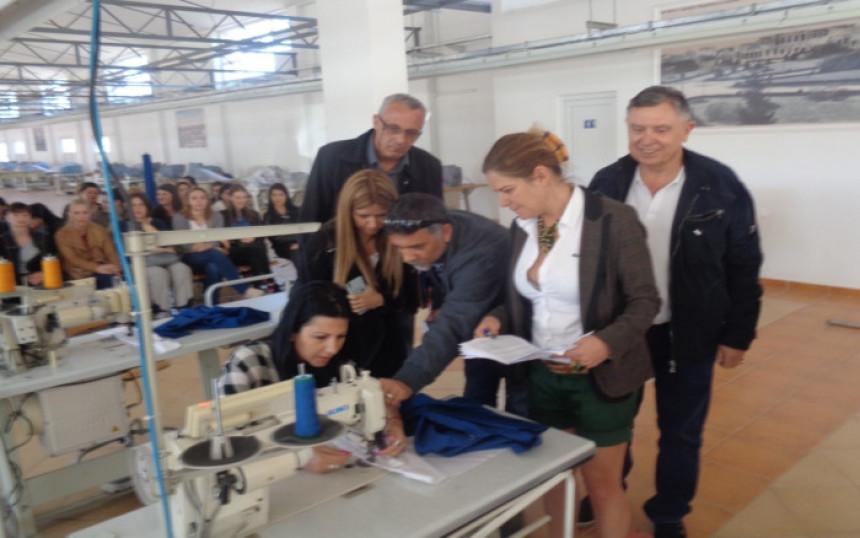B. Koviljača: Obuka za rad u novoj fabrici