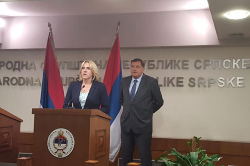 Dodik i Cvijanovićeva dali saglasnost za SSP