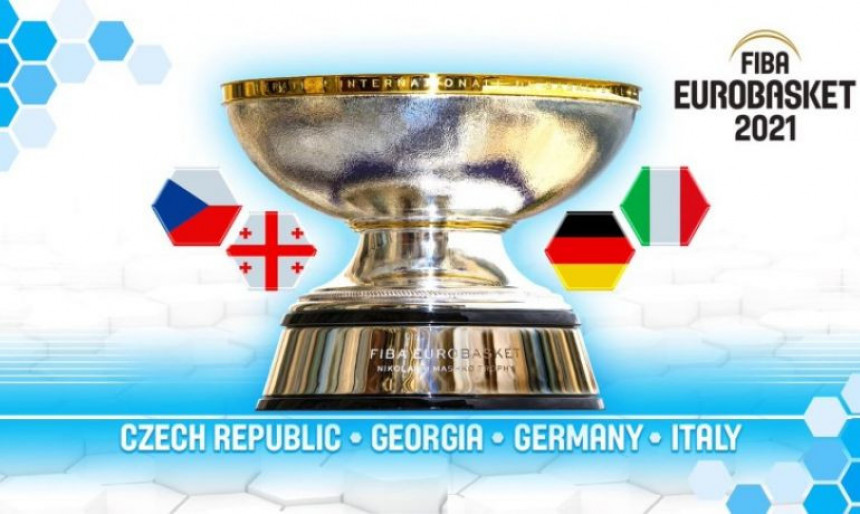 Evrobasket 2021. u Njemačkoj, Italiji, Gruziji i Češkoj!