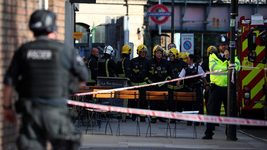 Teroristički akt u Londonu