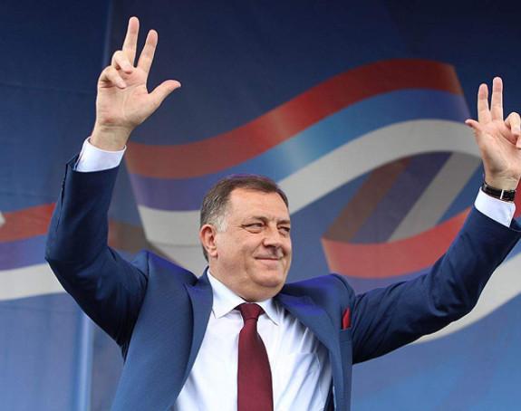 Dodik: 100 KM da glasate za SNSD!