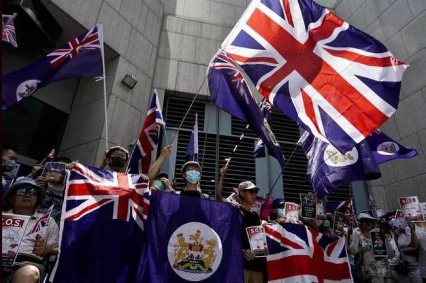 Demonstranti žele da London izvrši pritisak na Kinu