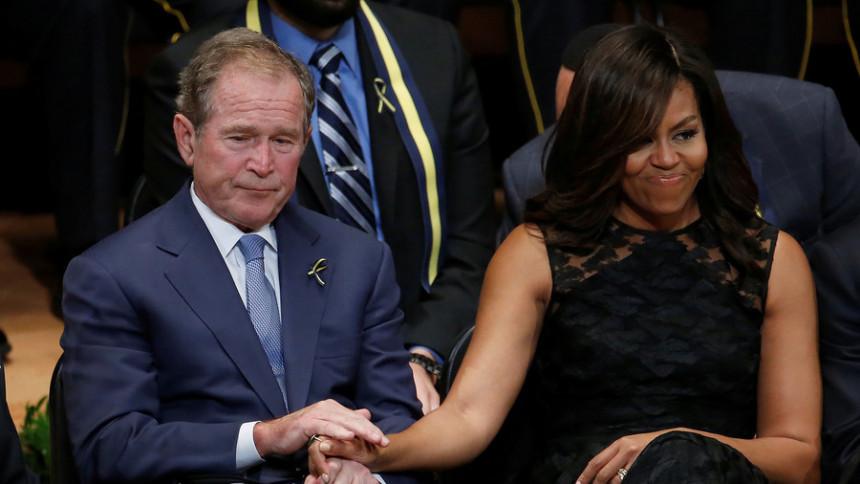 """""""Džordž Buš je divan, zabavan i dobar čovjek"""""""