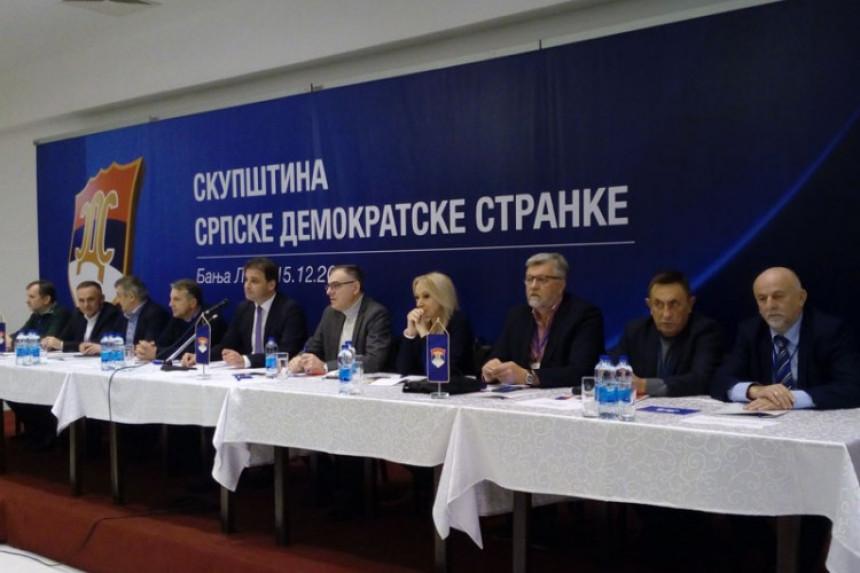 Prekinuta sjednica SDS-a u Banjaluci