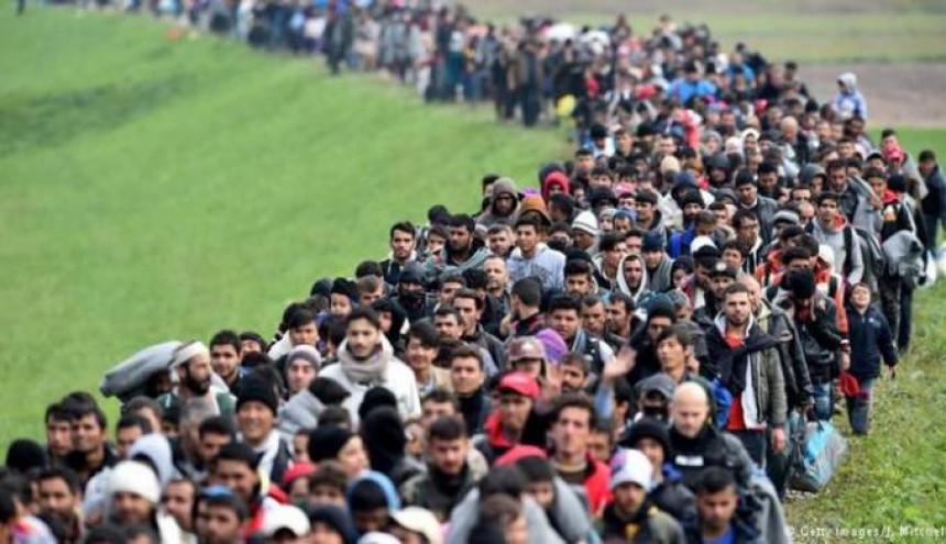 U Evropu stiže još milion izbjeglica