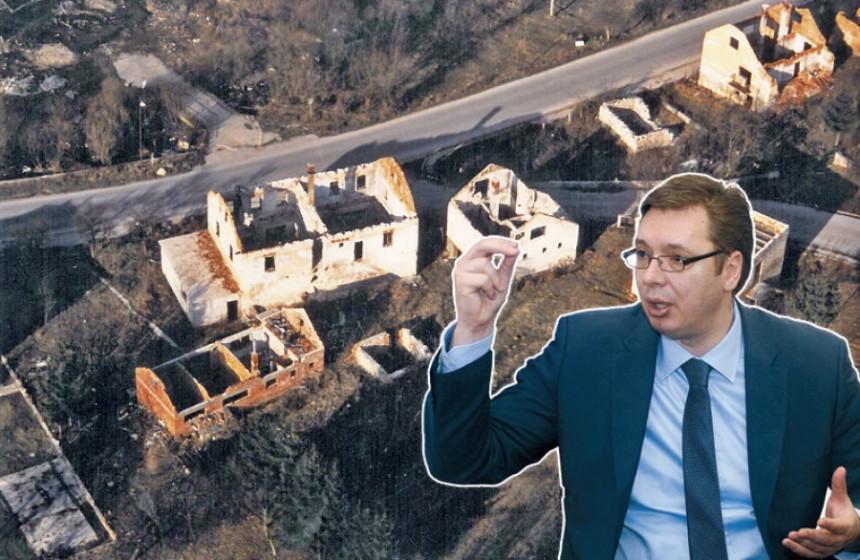 "Zapalili su selo i ispisali ""U"""