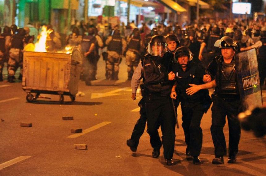 Skoplje: Građani i večeras na protestu