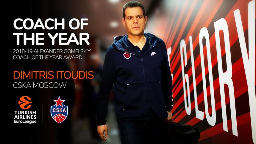 Očekivano: Itudis je najbolji trener Evrolige!