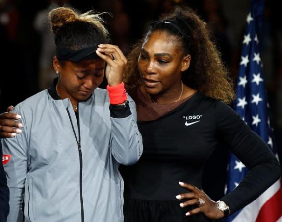 Osaka: Serena mi je rekla da publika ne zviždi meni