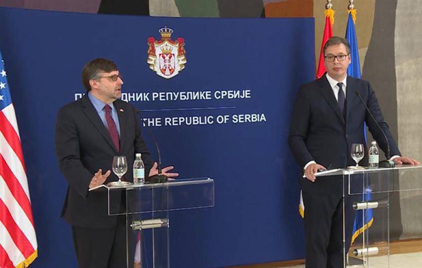 Vučić i Palmer dogovorili susret za deset dana