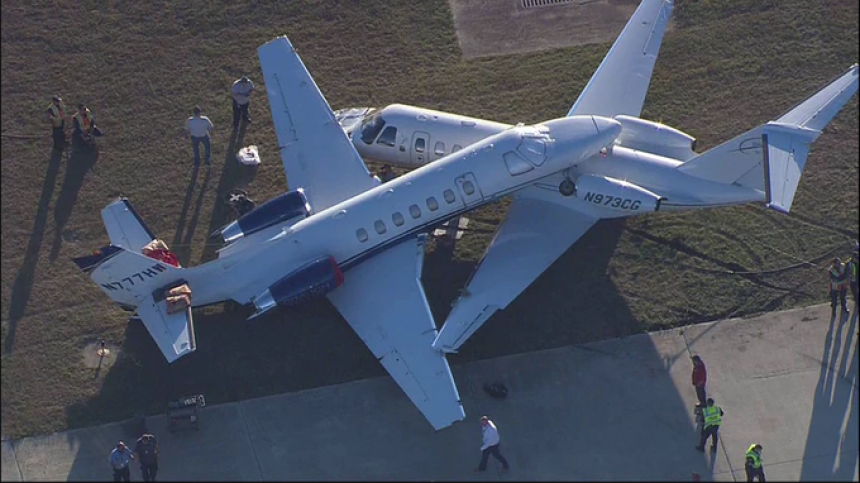 Sudar dva aviona na aerodromu u Teksasu