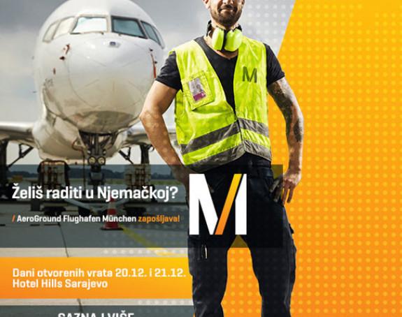 Dođite na intervju i zaposlite se na aerodromu Minhen