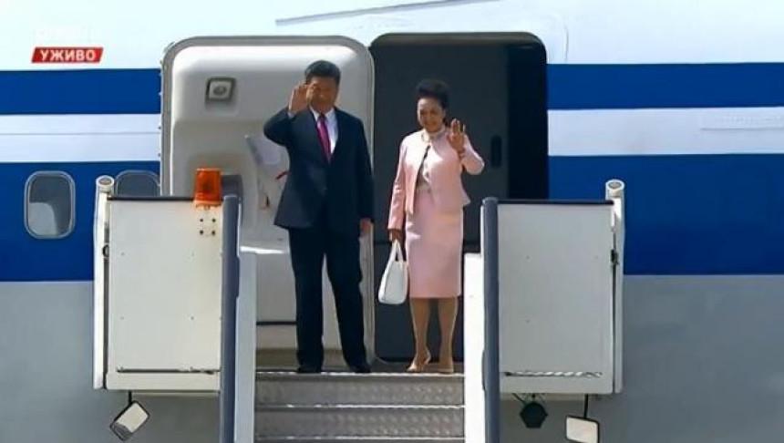 Predsjednik Kine stigao u Beograd
