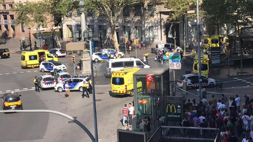 Teroristički napad u Barseloni: Kombijem uletio među pješake, 13 osoba poginulo