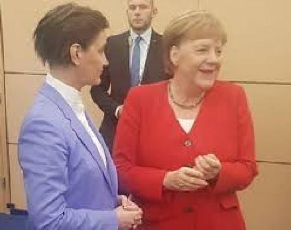 Ana Brnabić biće u Berlinu sa Angelom Merkel