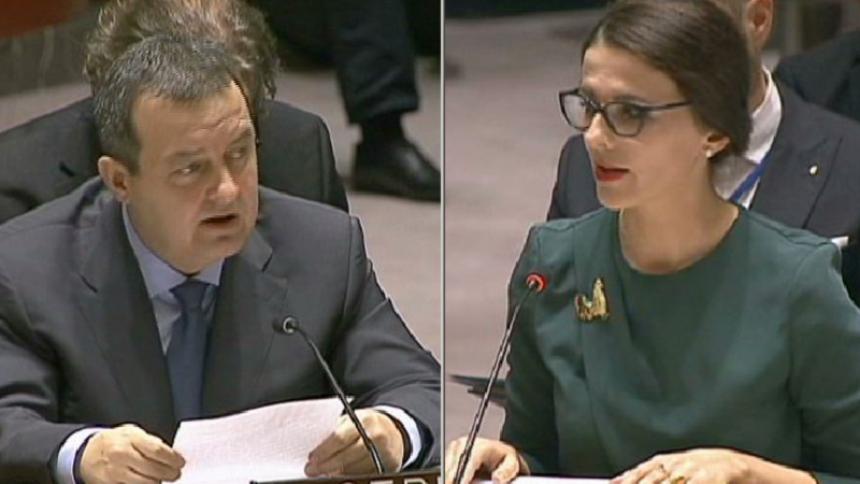 Dačić oštro odgovorio ambasadorki Kosova