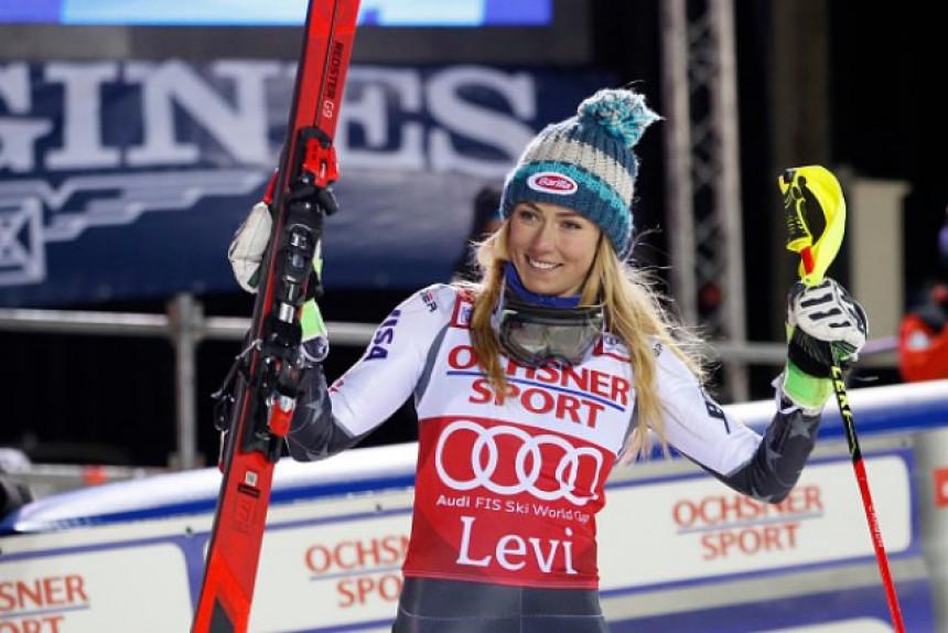 SK: Šifrin najbolja u slalomu u Leviju!