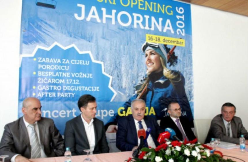 Otvorena zimska sezona na Jahorini