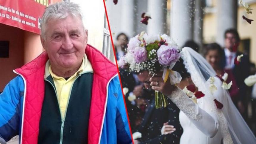 Пола вијека иде на свадбе непозван