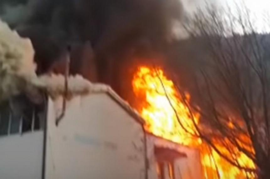 Požar u radnji: Ogromna šteta