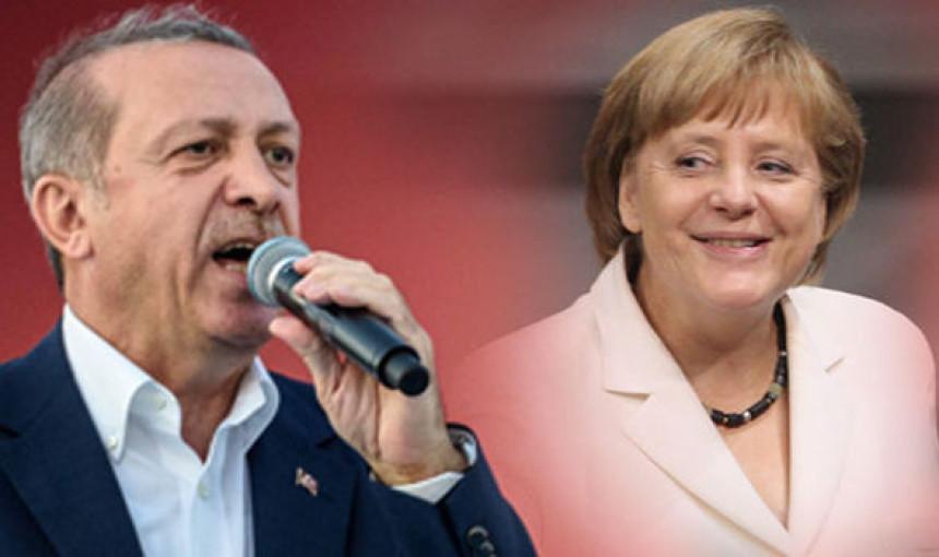 """Erdogan: Angeline """"nacističke mjere"""""""