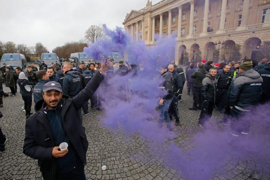 Zabrana protesta ''žutih prsluka''