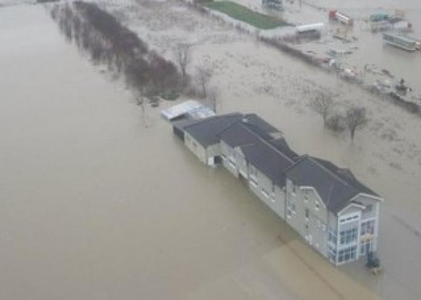 Stotine ljudi evakuisane zbog poplava u Norveškoj