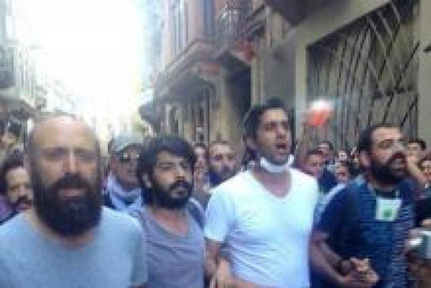 """Sulejman"" među demonstrantima"