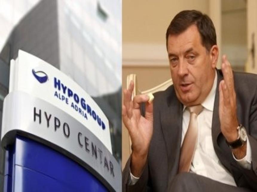 Dodik kod Hypo banke zadužio Srpsku za 262 miliona KM