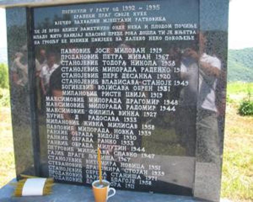 Sjećanje na nekažnjeni zločin nad Srbima