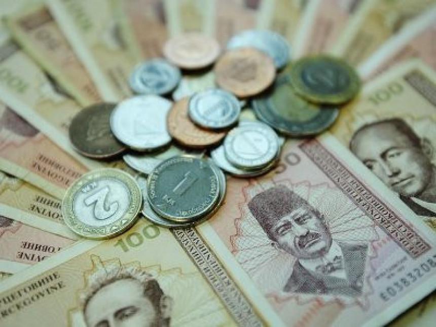 Prosječna neto plata 796 KM