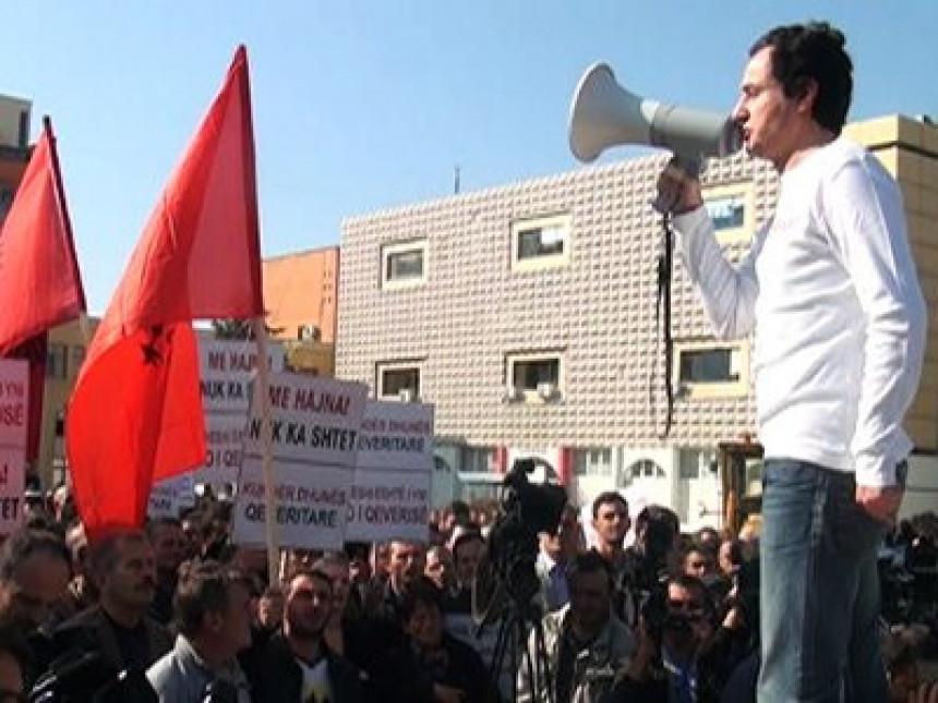 Demonstranti blokirali Skupštinu Kosova