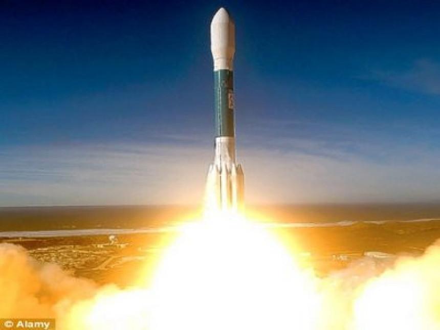 Пала руска ракета (ВИДЕО)