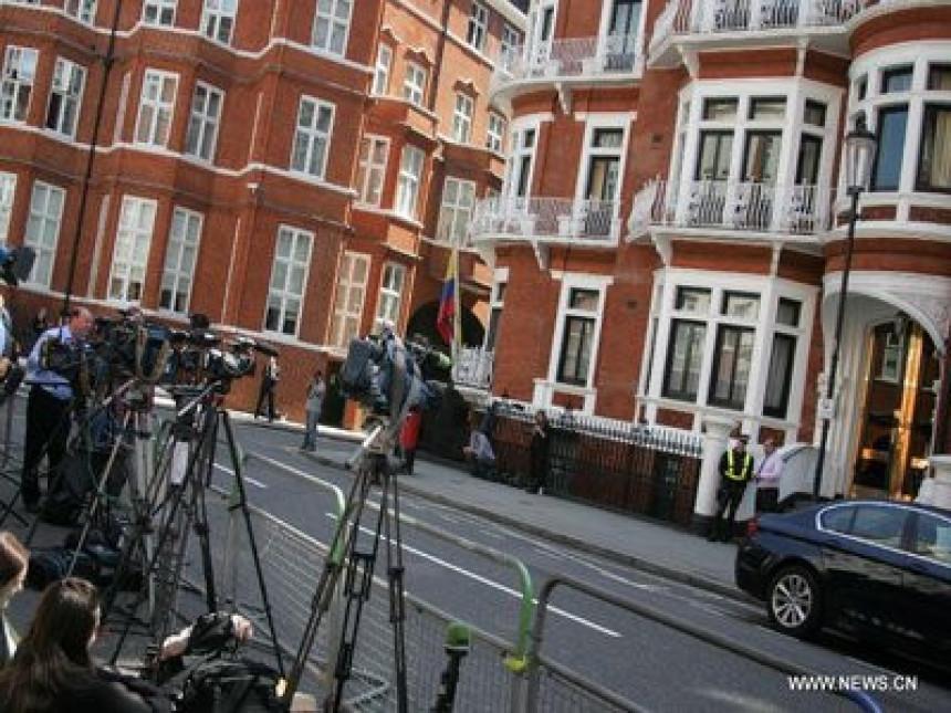 Pronađen mikrofon u ambasadi Ekvadora u Londonu