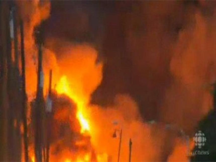 Katastrofalna nesreća u Kanadi (VIDEO)